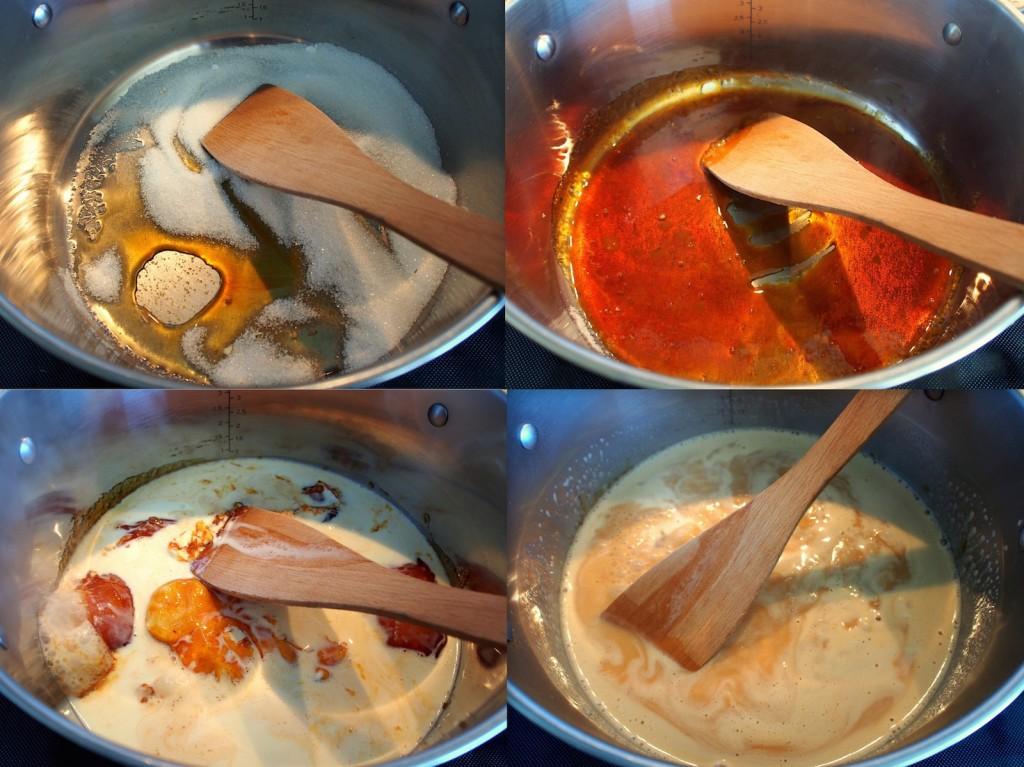 Meruňkový dort - příprva