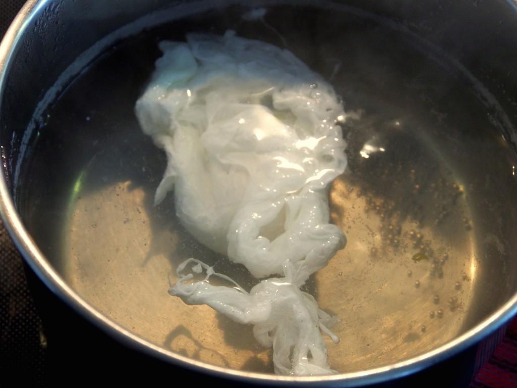 Zastřené vejce - příprava